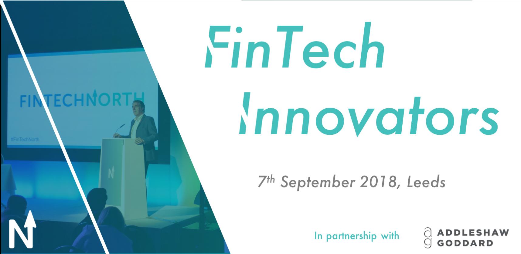FinTech North September Forum, Leeds: FinTech Innovators
