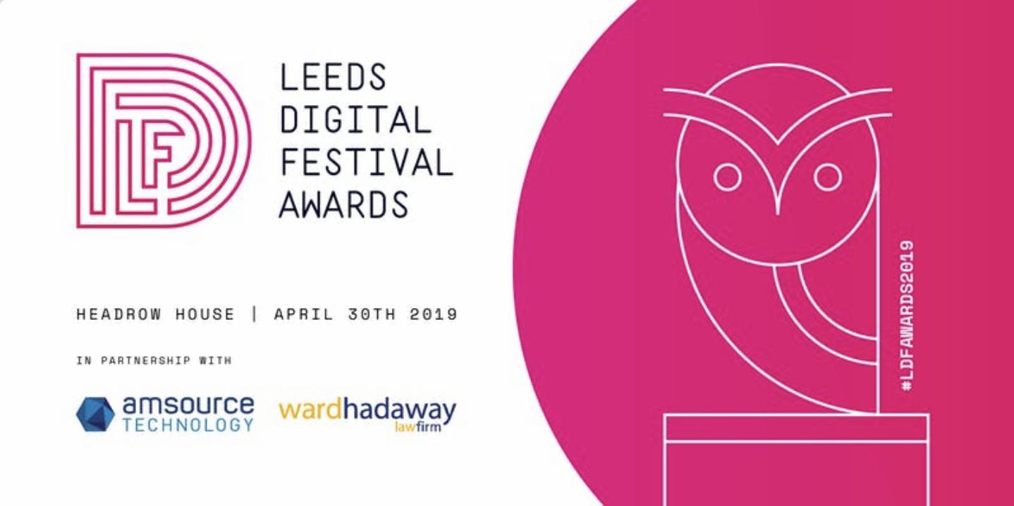 FinTech North shortlisted for Leeds Digital Festival Award