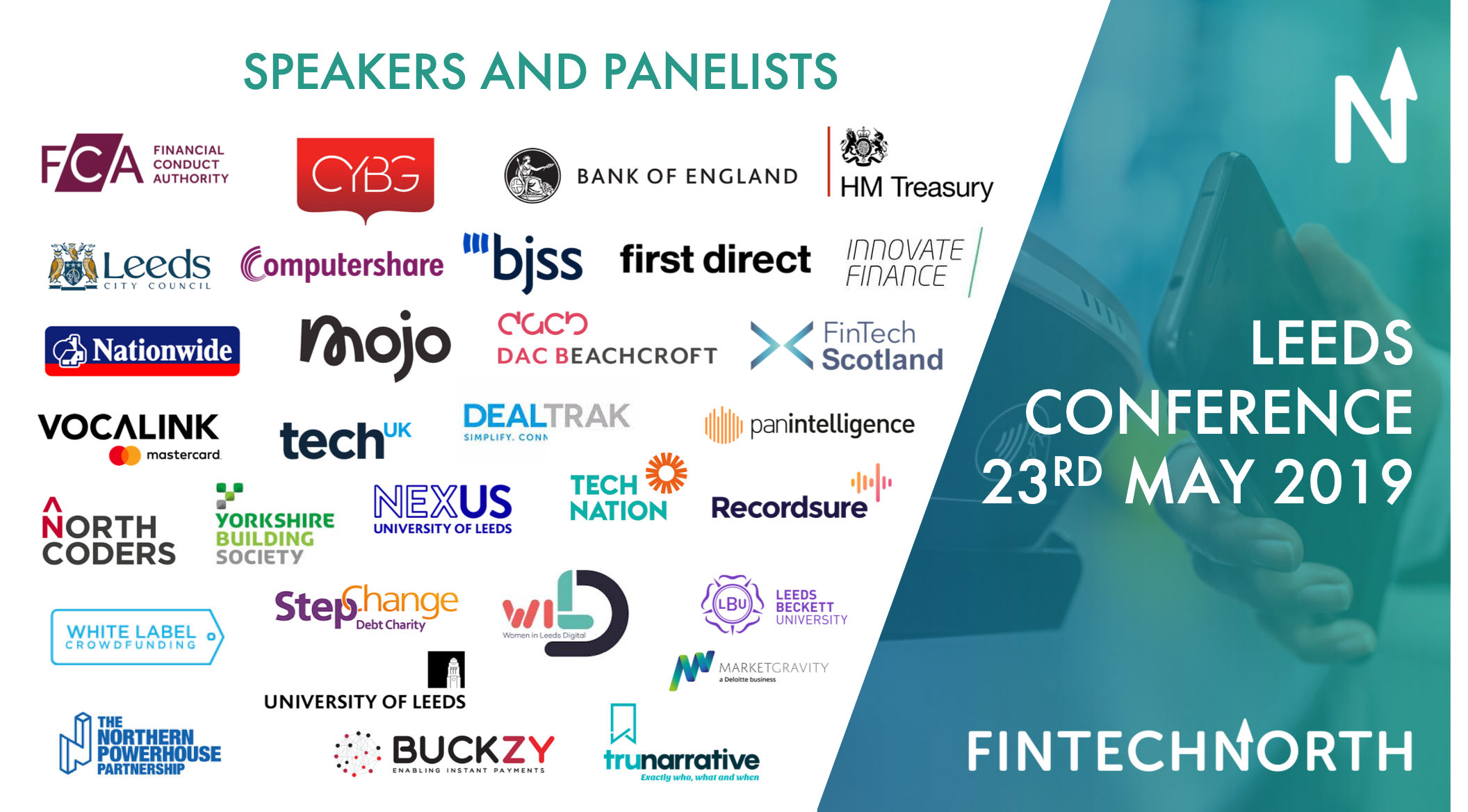 FinTech North Leeds Conference 2019