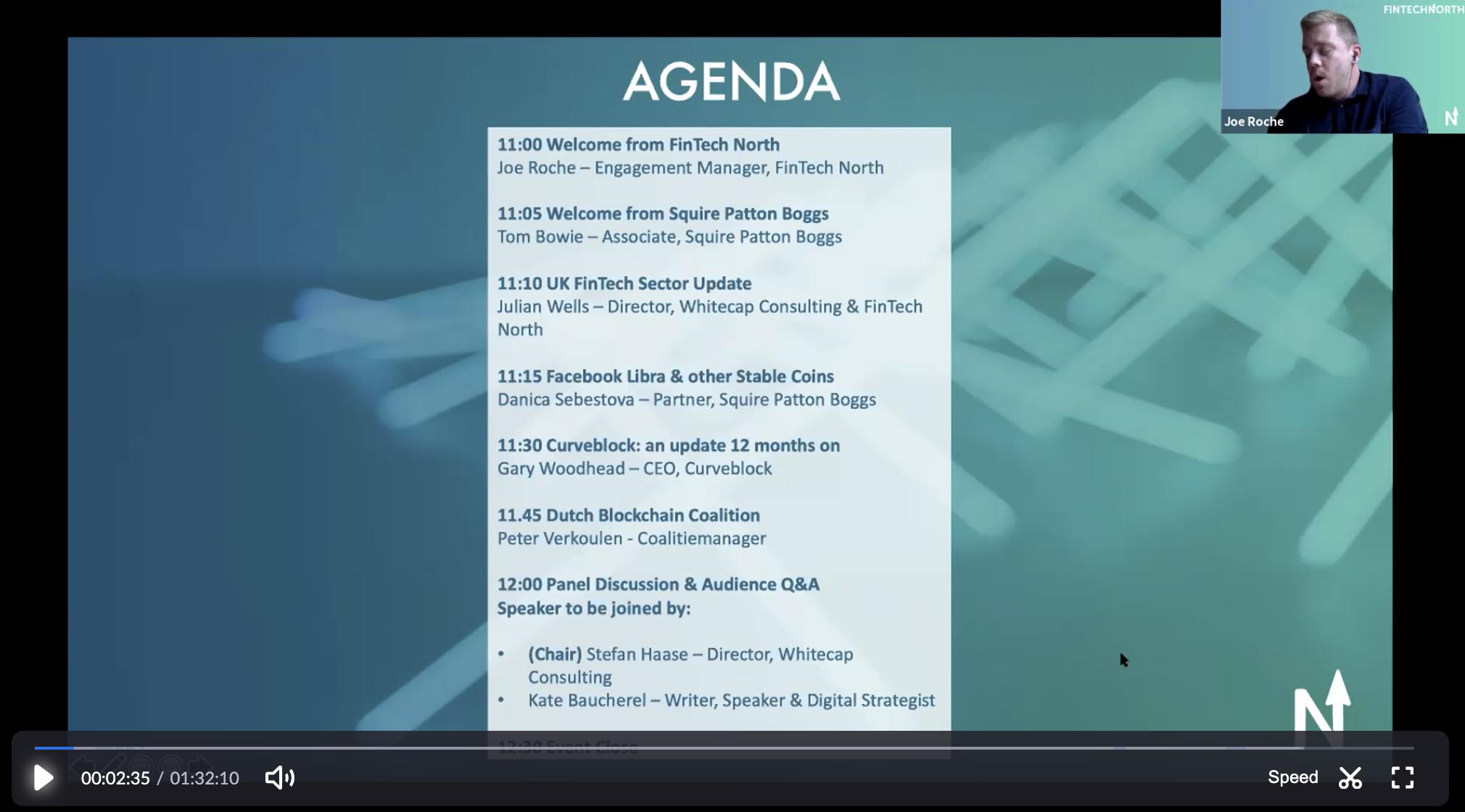 Re-watch & Re-cap: FinTech North Blockchain Forum 23/10