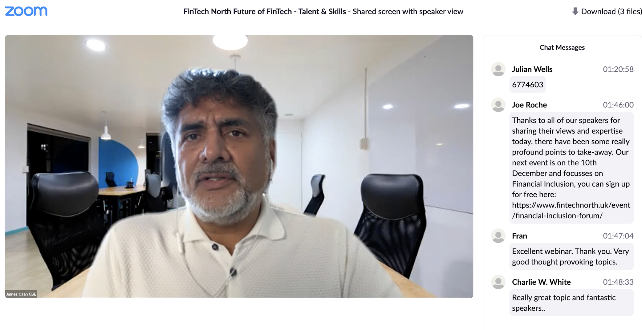 Re-watch: Future of FinTech – Talent & Skills 26/11