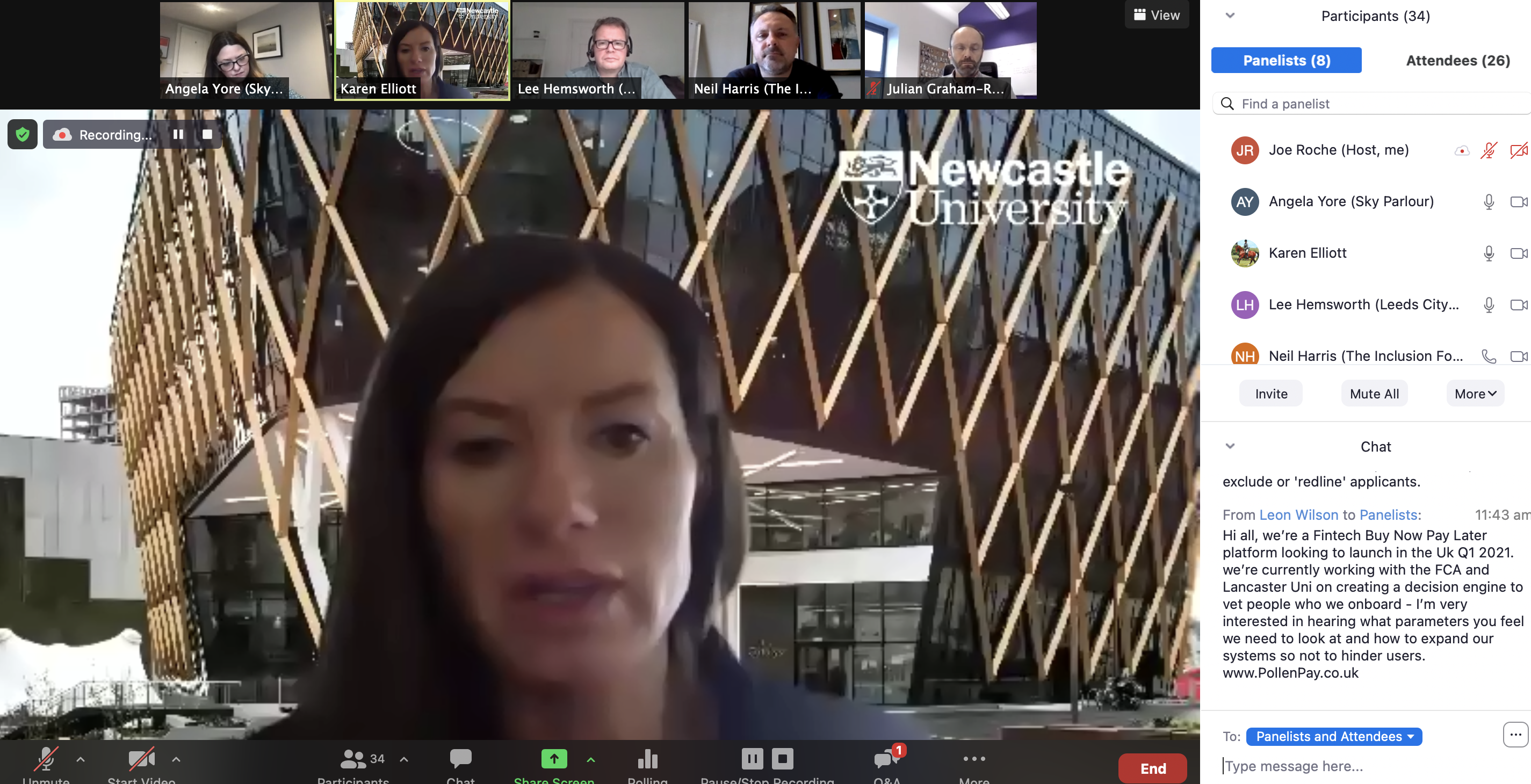 Re-watch & write-up: FinTech North Financial Inclusion Forum